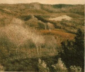 herfstsonate,  120 x 140 cm