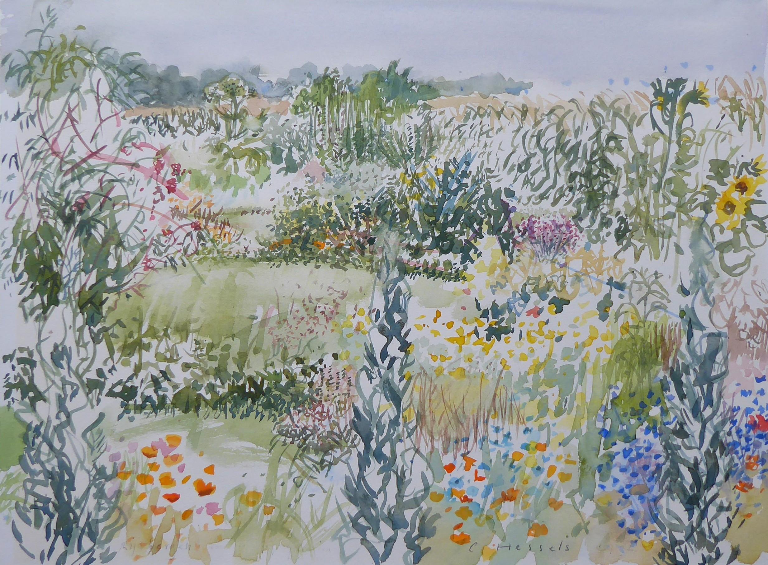 zomertuin het land
